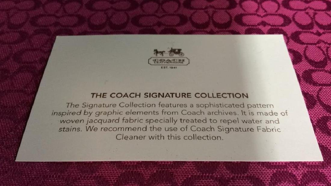 COACH SIGNATURE COLLECTION Bag & Phone Holder - 4