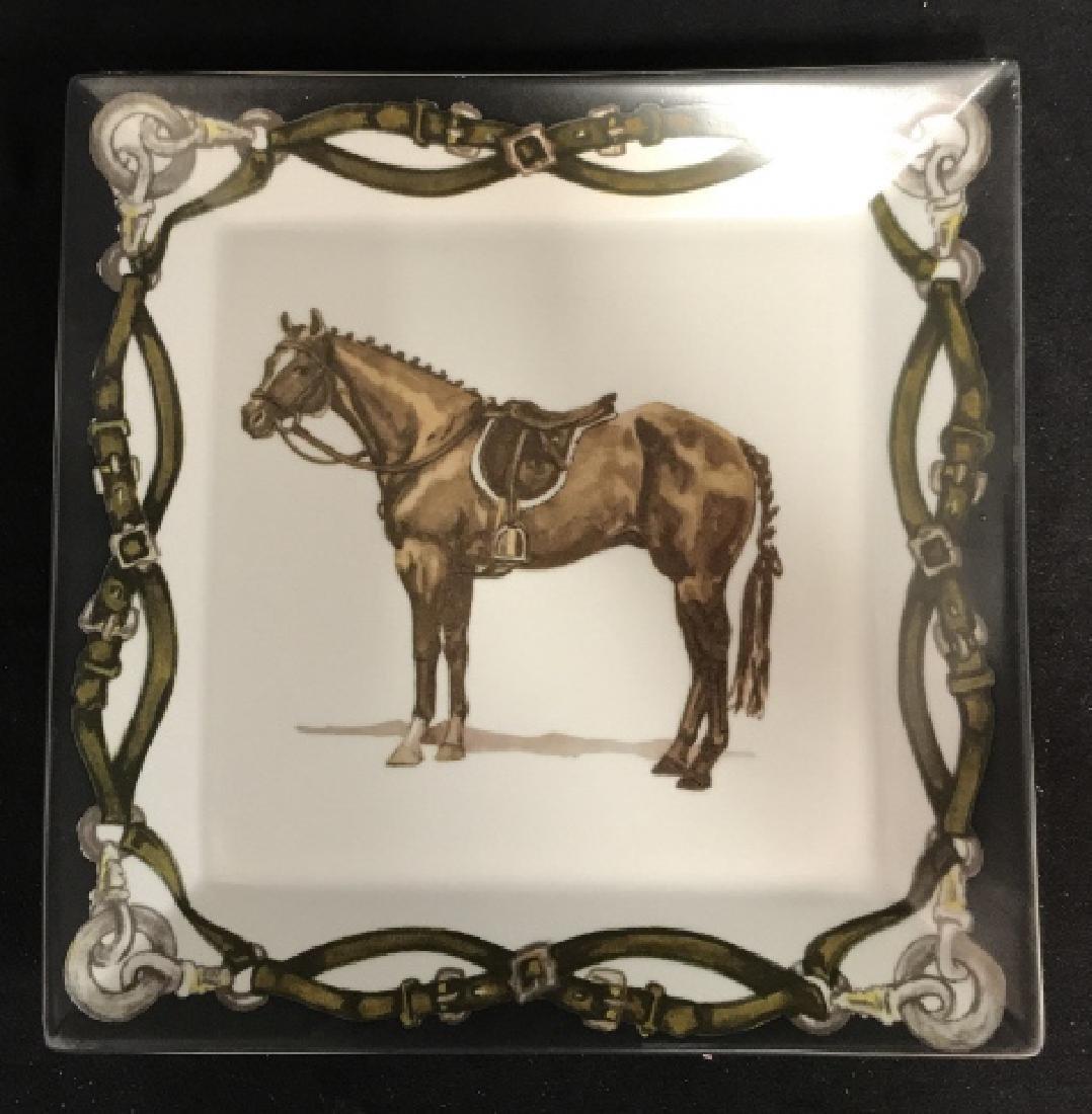 Artfully Equestrian Liz's Rush Horse Platter