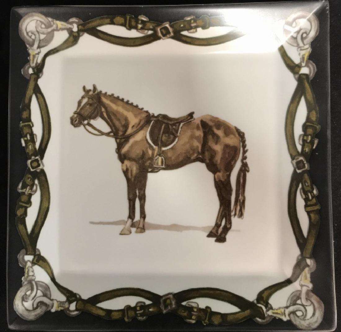 Artfully Equestrian Liz's Rush Horse Platter - 2