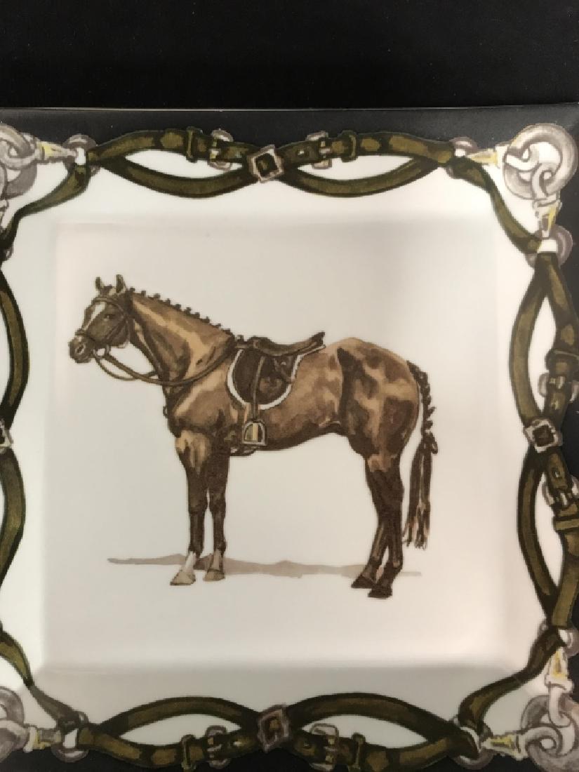Artfully Equestrian Liz's Rush Horse Platter - 3