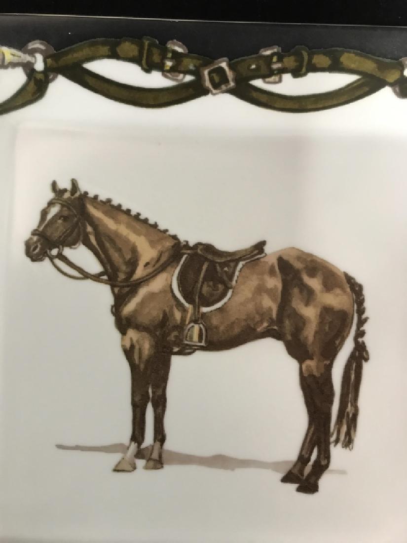 Artfully Equestrian Liz's Rush Horse Platter - 4