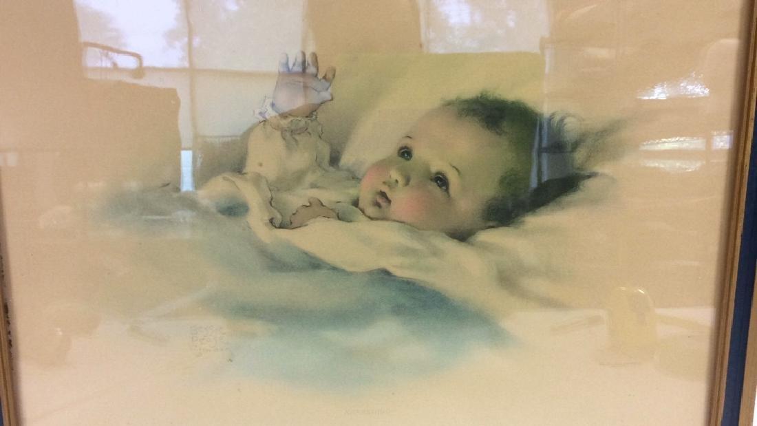 Awakening Infant Print by Bessie Pease Gutmann - 2