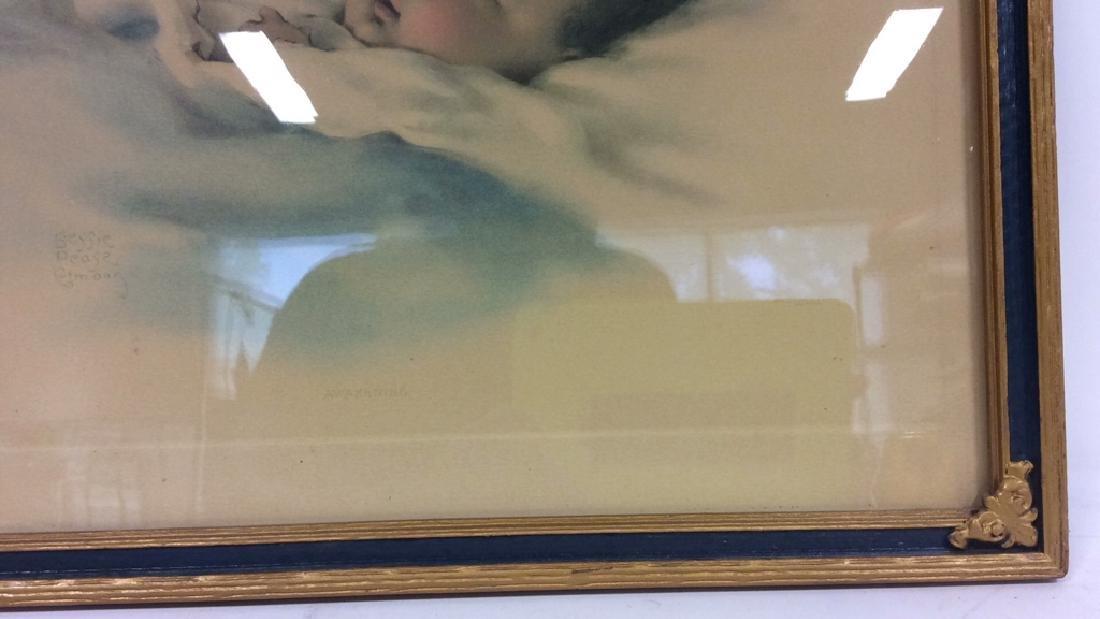 Awakening Infant Print by Bessie Pease Gutmann - 7