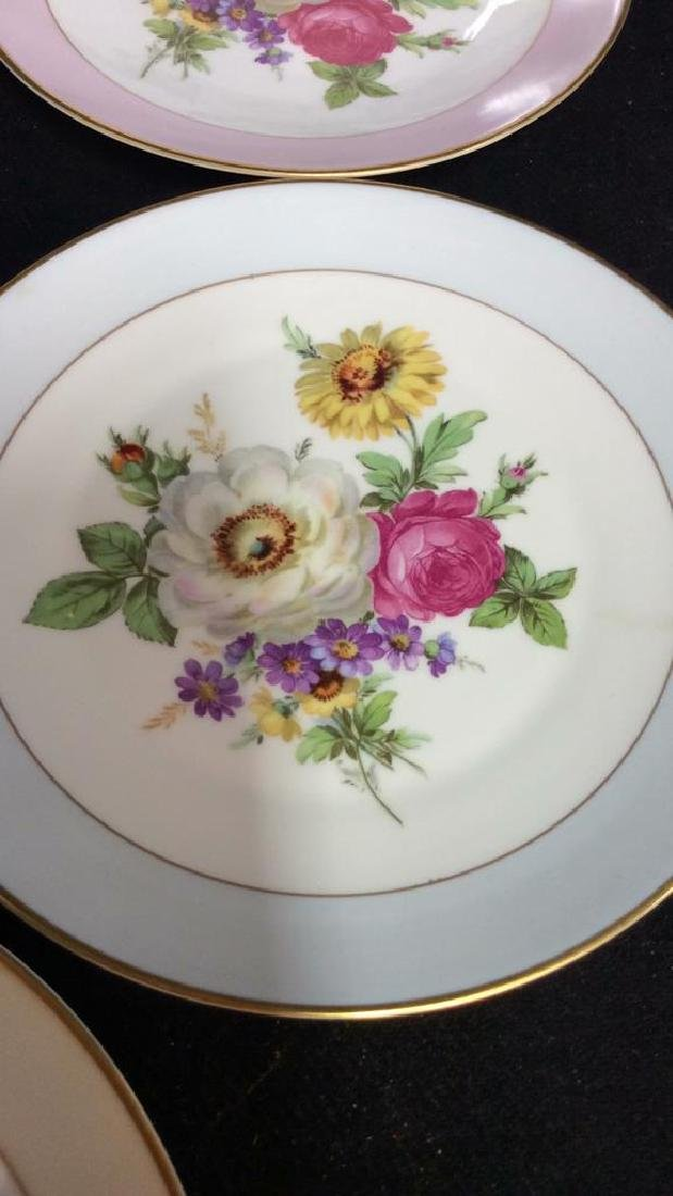 Alka Kunst, Colorful Floral Dessert Set - 4