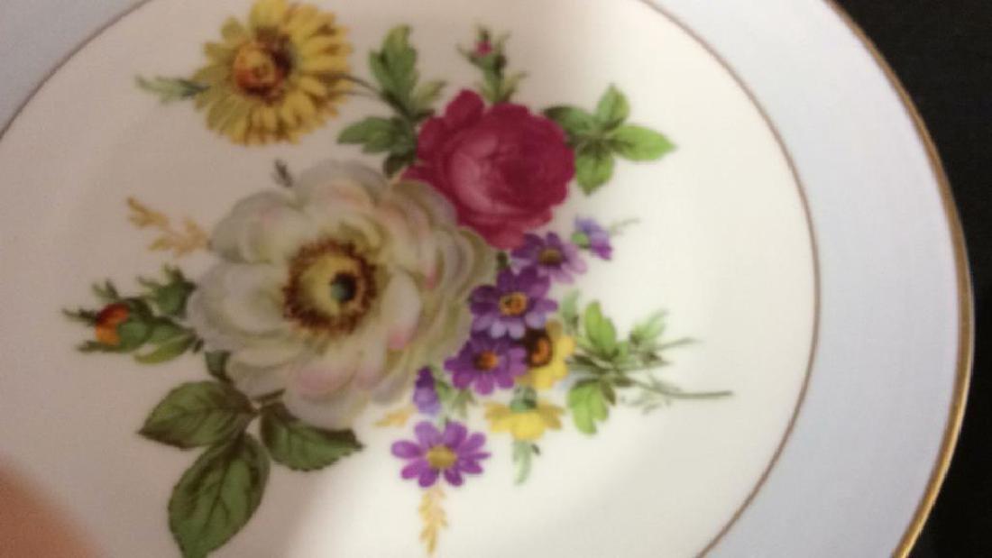 Alka Kunst, Colorful Floral Dessert Set - 7