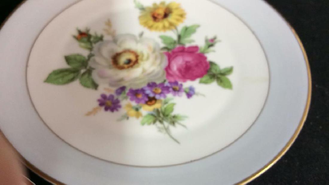 Alka Kunst, Colorful Floral Dessert Set - 8