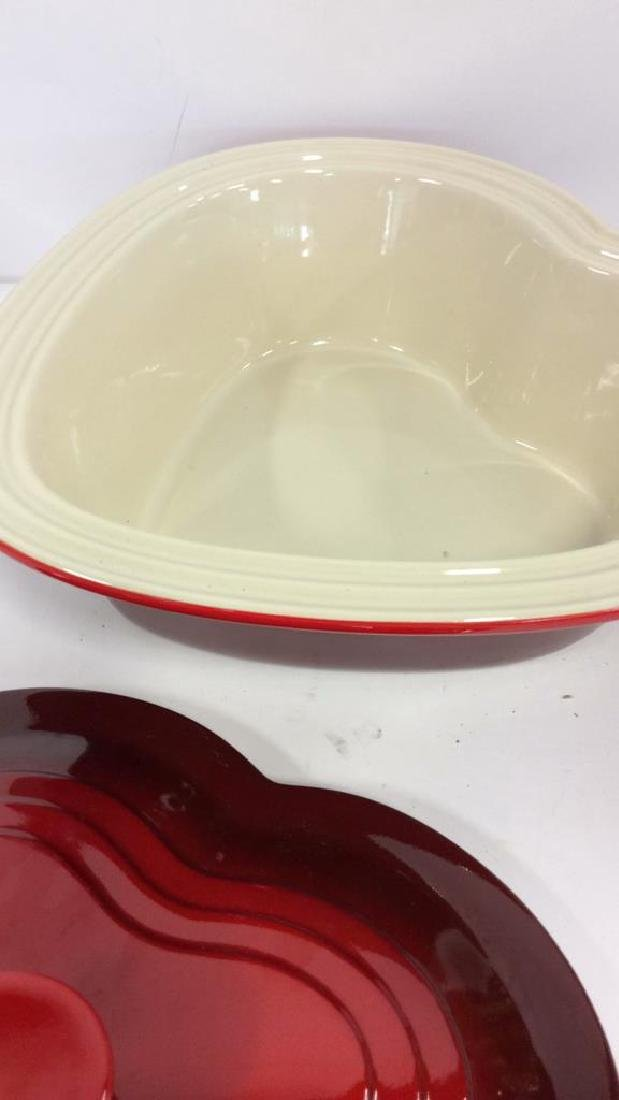 Set 4 LE CREUSET Stoneware Ceramic Pottery - 4