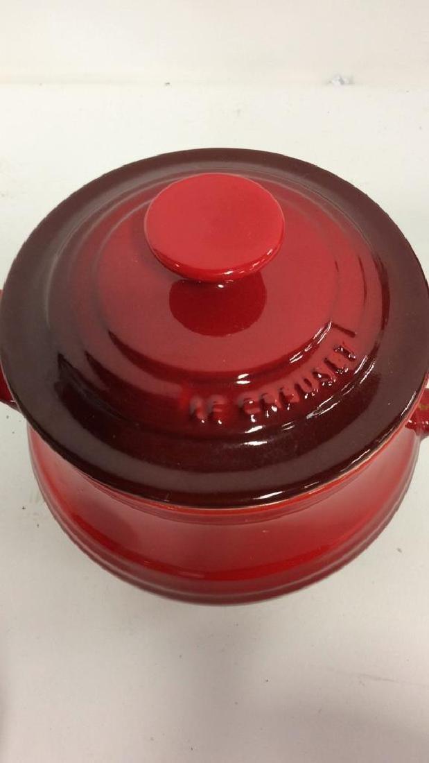Set 4 LE CREUSET Stoneware Ceramic Pottery - 8