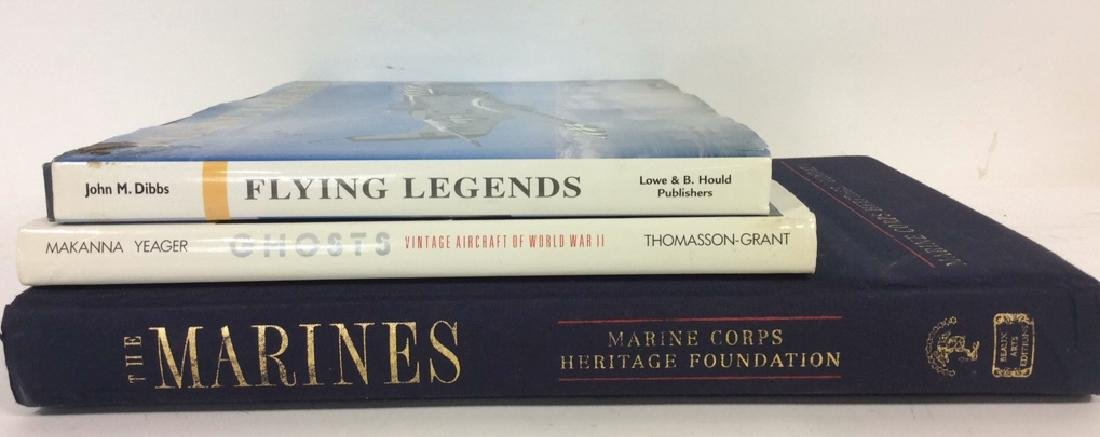 Group Lot Coffee Table Military Books
