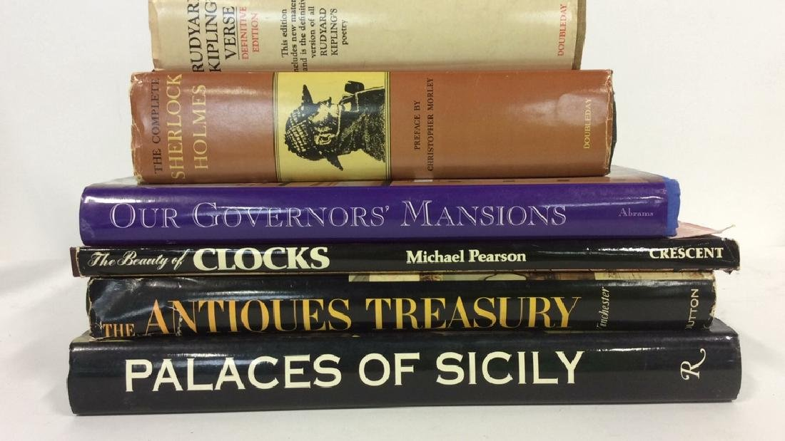 Group Lot Coffee Table History and Mystery Books