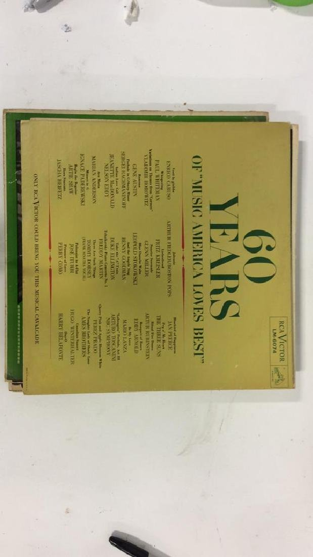 Group Lot Classic Vinyl Records with Covers - 8