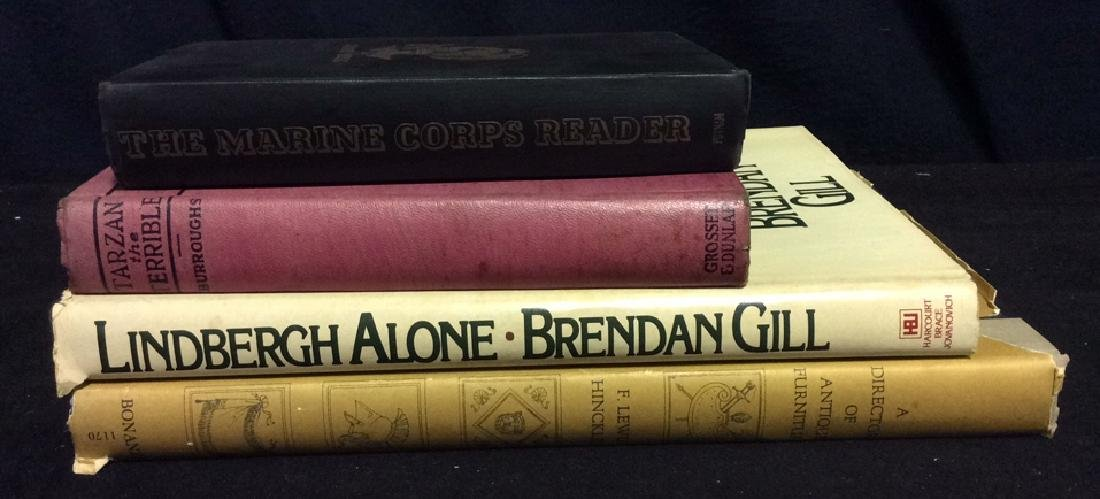 Group Lot Coffee Table Vintage  Books