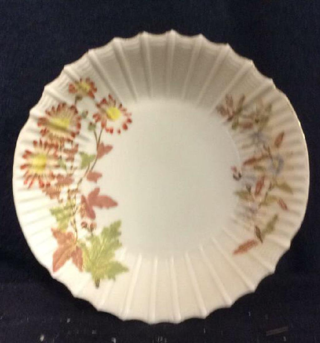 Lot 6 Porcelain Plates & Oval Serving Dish - 6