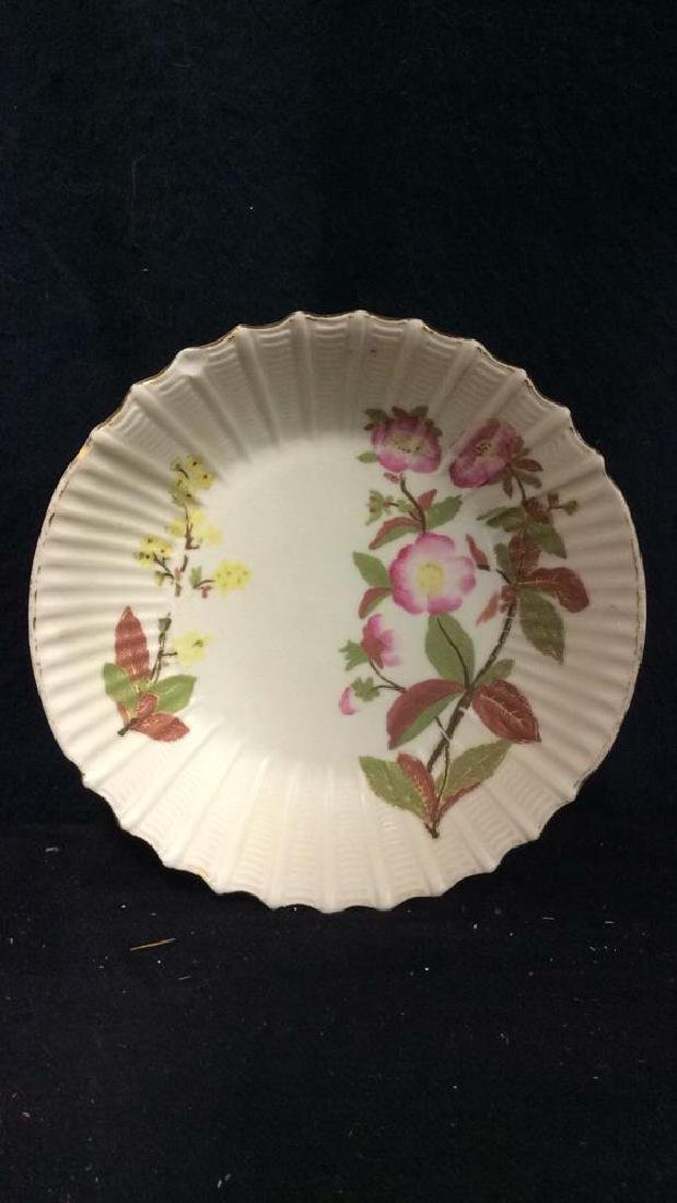 Lot 6 Porcelain Plates & Oval Serving Dish - 7