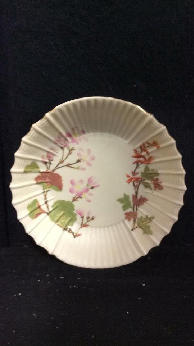 Lot 6 Porcelain Plates & Oval Serving Dish - 8