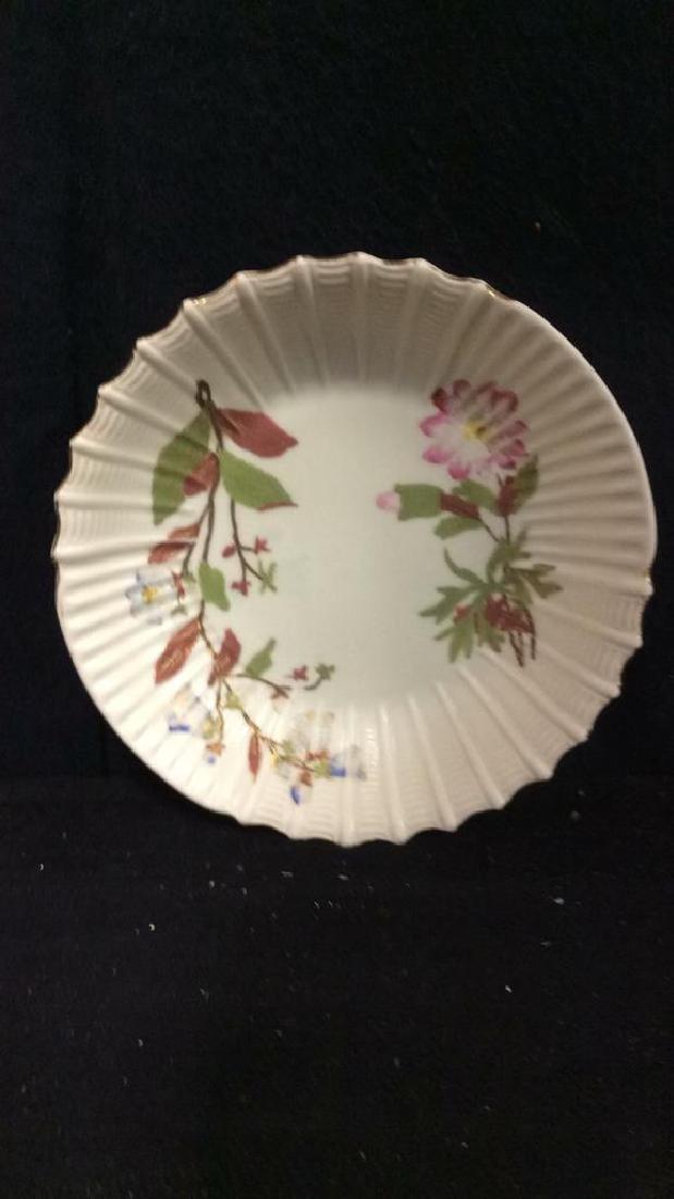 Lot 6 Porcelain Plates & Oval Serving Dish - 9