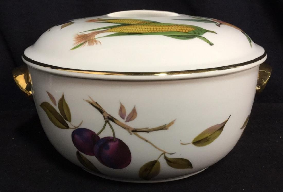Royal Worcester Flameproof Porcelain Lidded Tureen