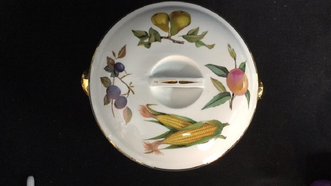 Royal Worcester Flameproof Porcelain Lidded Tureen - 3