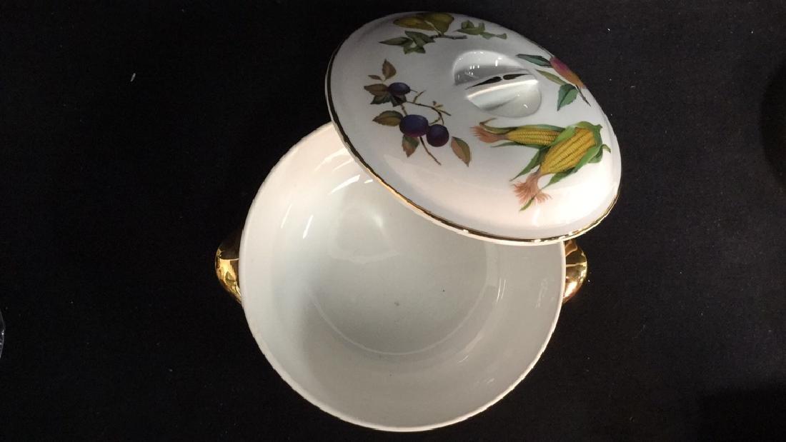 Royal Worcester Flameproof Porcelain Lidded Tureen - 4