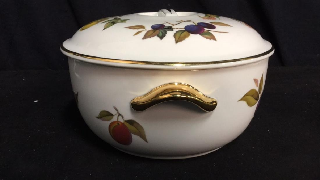Royal Worcester Flameproof Porcelain Lidded Tureen - 5