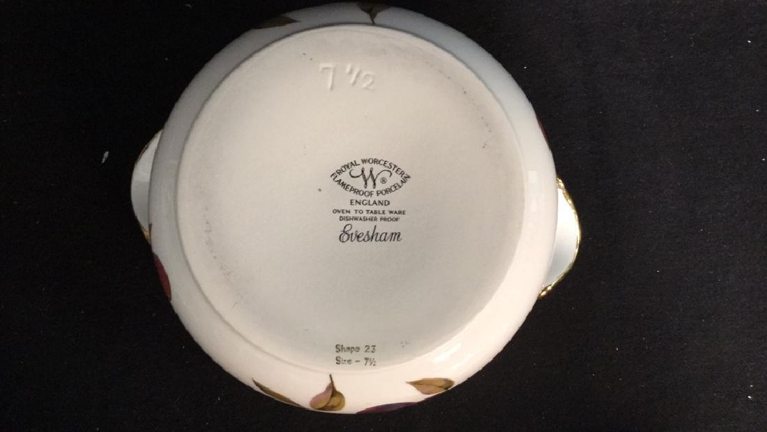 Royal Worcester Flameproof Porcelain Lidded Tureen - 6