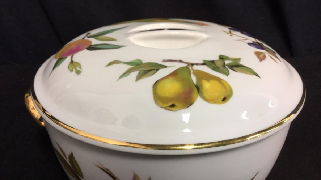 Royal Worcester Flameproof Porcelain Lidded Tureen - 8