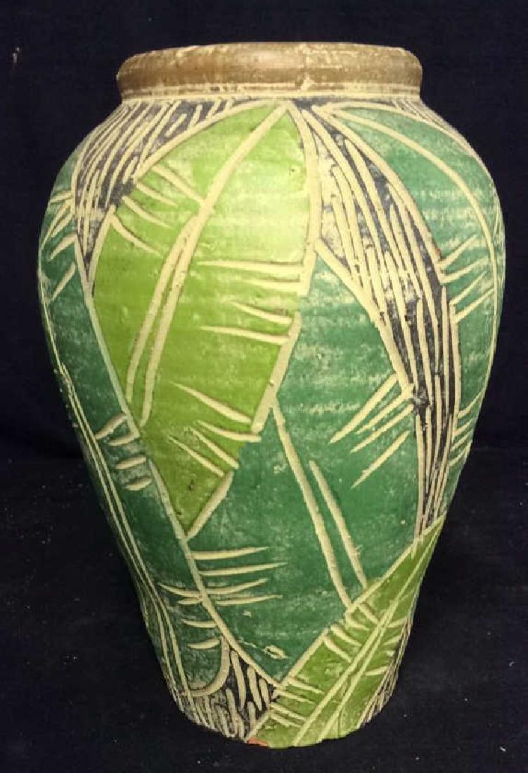Terra Cotta Hand Crafted Vessel Vase