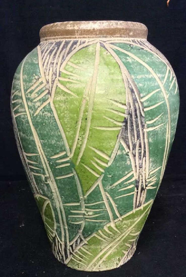 Terra Cotta Hand Crafted Vessel Vase - 2