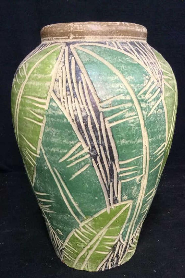 Terra Cotta Hand Crafted Vessel Vase - 4