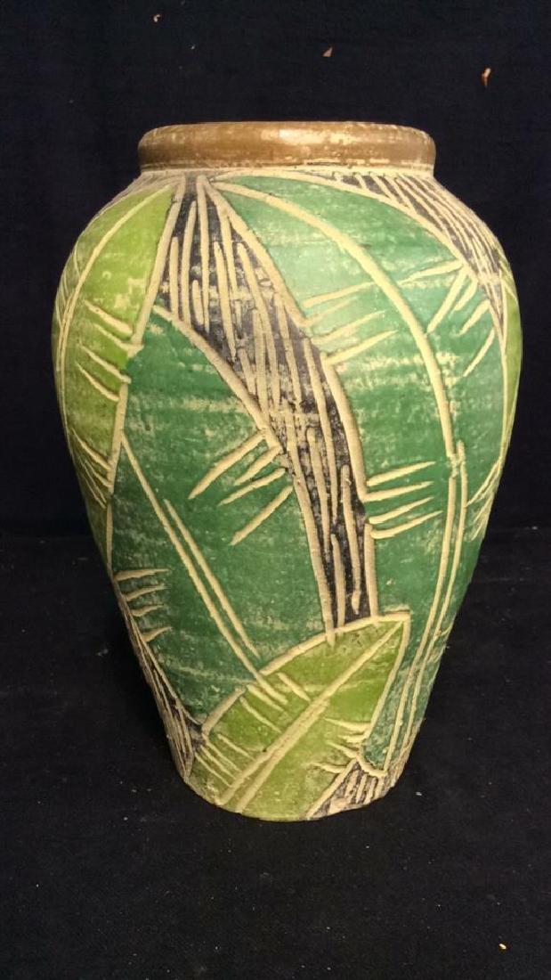 Terra Cotta Hand Crafted Vessel Vase - 6