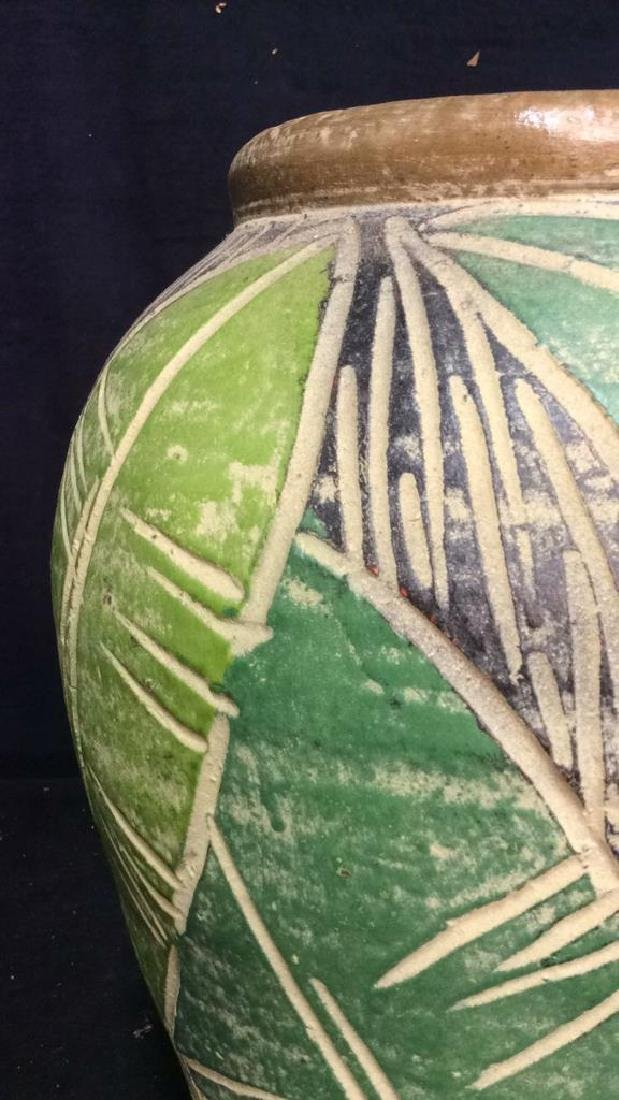 Terra Cotta Hand Crafted Vessel Vase - 7