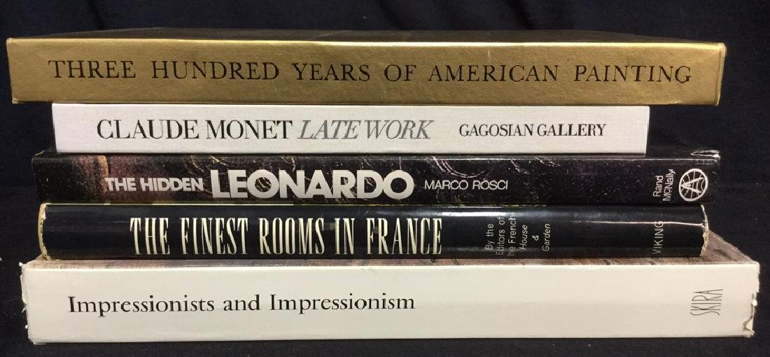 Group Lot Oversized Coffee Table Art Books