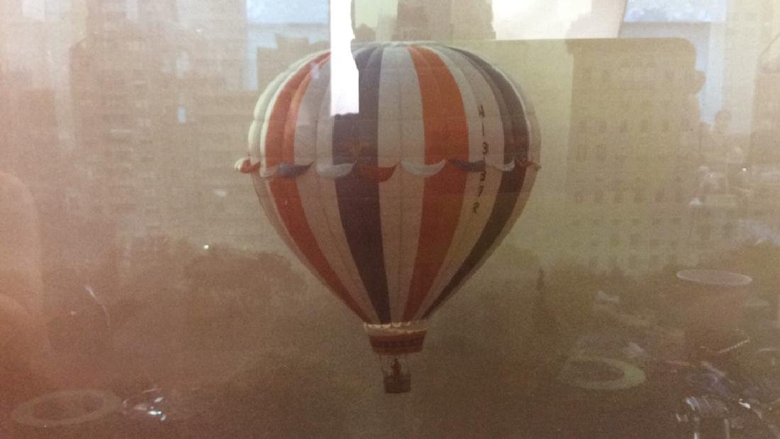Ruth Orkin 1974 Photograph Hot Air Balloon Print