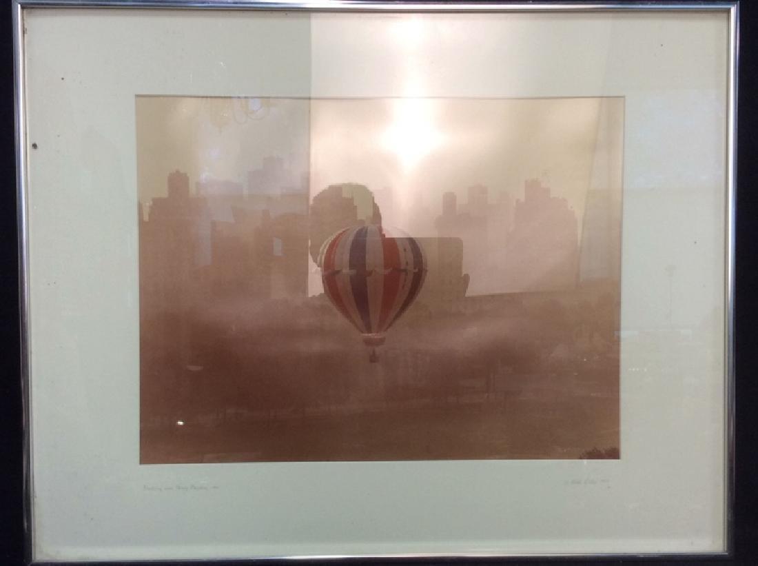 Ruth Orkin 1974 Photograph Hot Air Balloon Print - 2