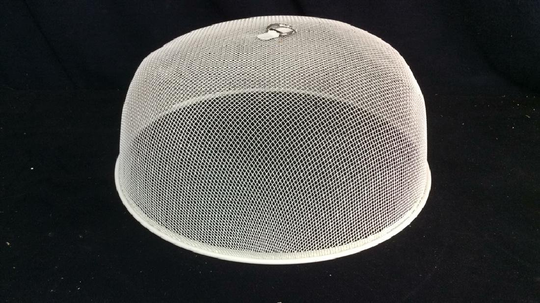 Set 3 Metal Mesh Domed Plate Protectors - 3