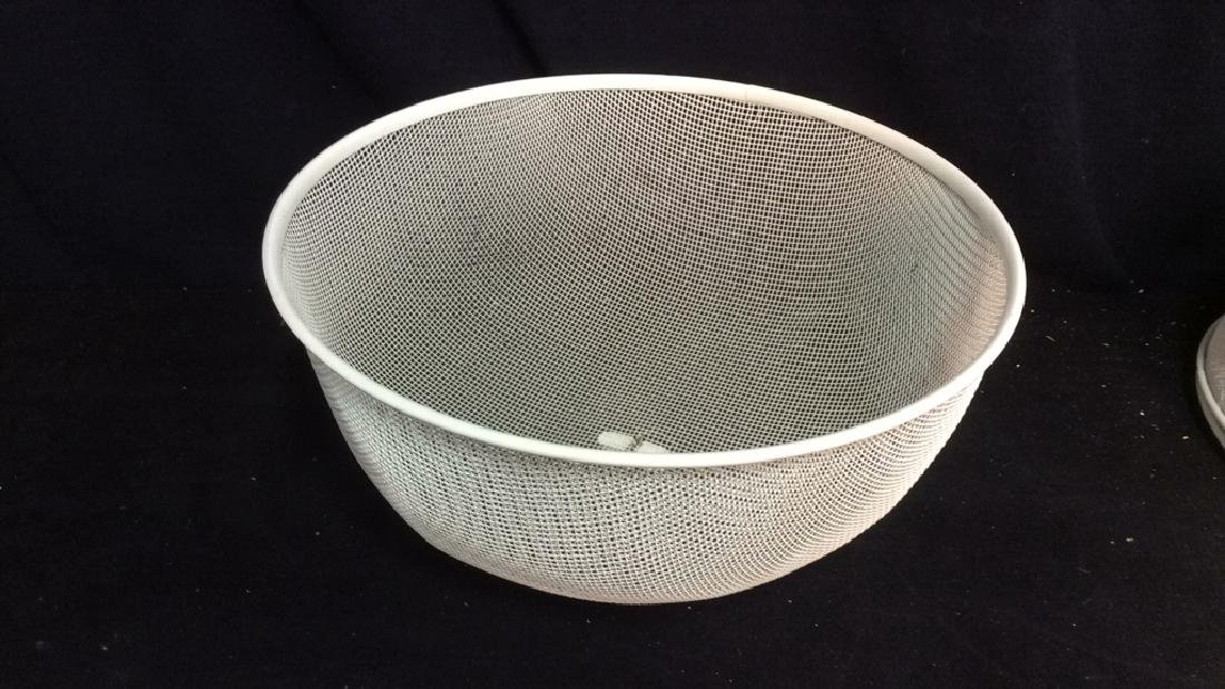 Set 3 Metal Mesh Domed Plate Protectors - 4