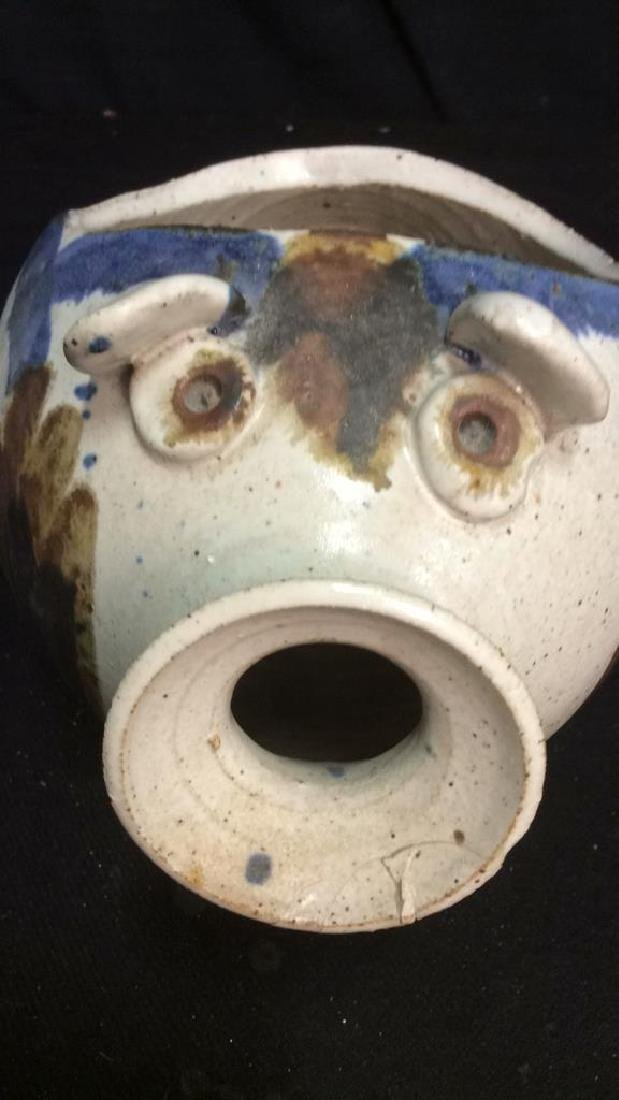 Hand Crafted Ceramic Pottery Pig - 10