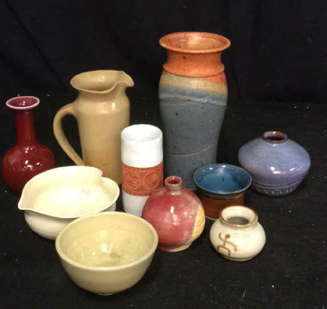 Group Lot Studio and Vintage Pottery