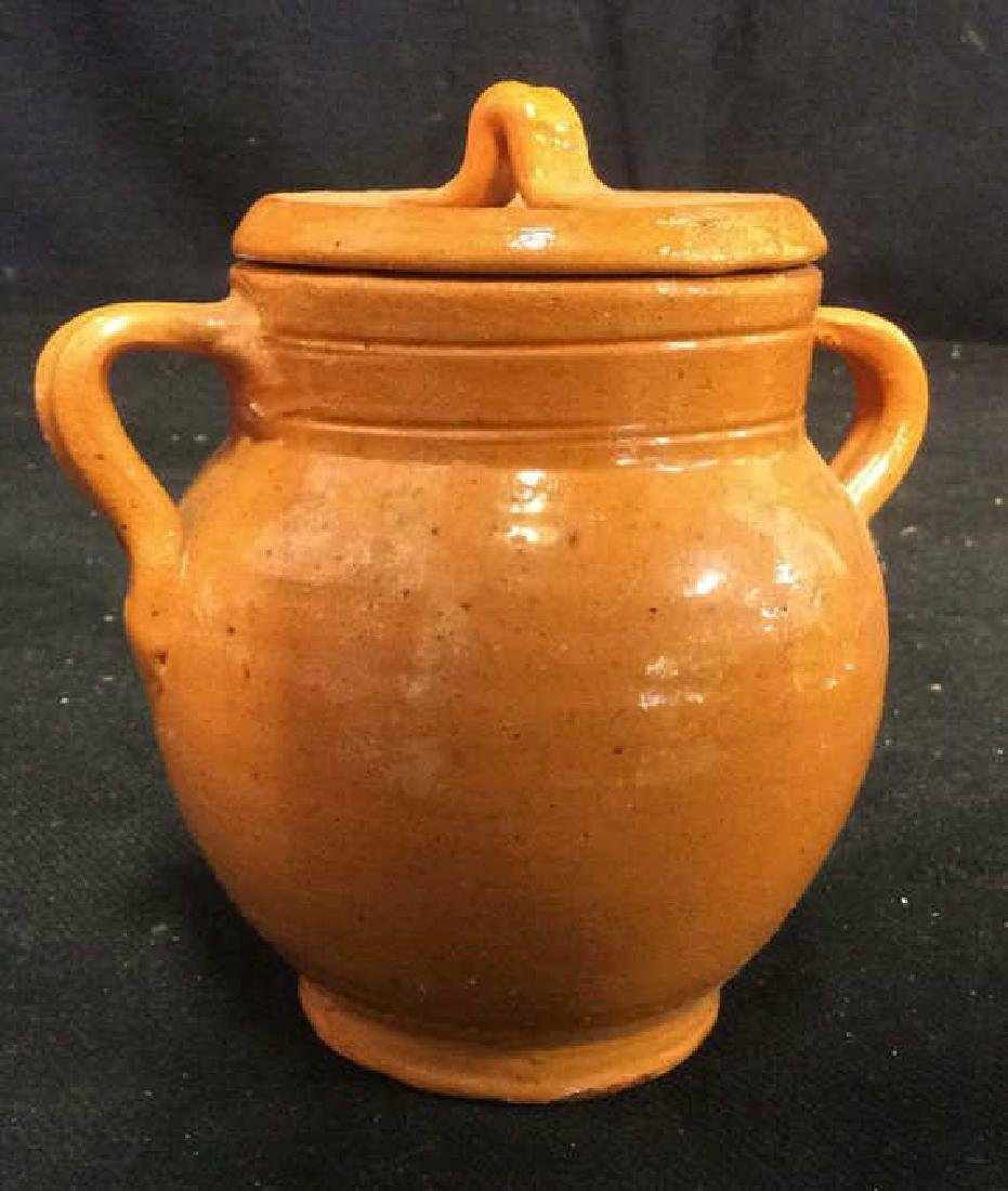 Jugtown Ware Vintage Lidded Pot