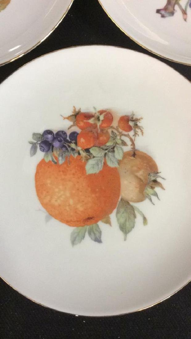 8 Winterling Germany Painted Fruit Porcelain - 2