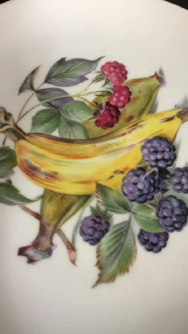 8 Winterling Germany Painted Fruit Porcelain - 6