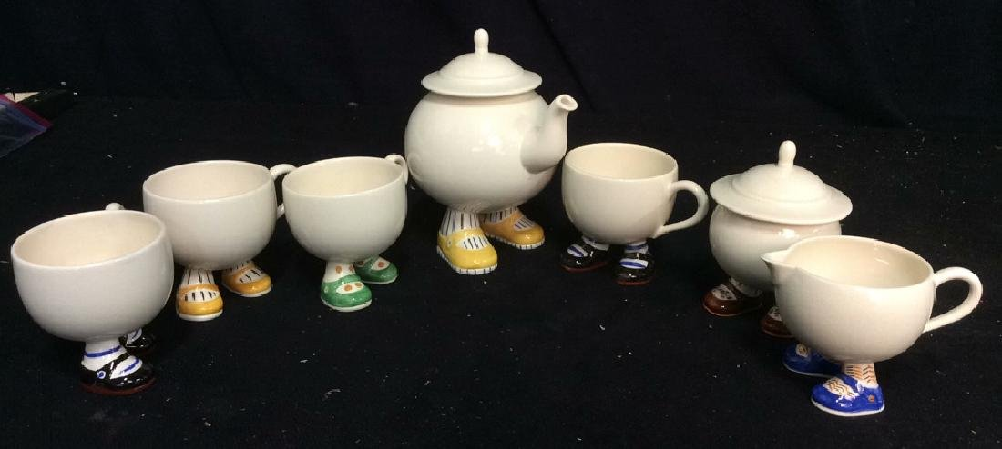 Carlton Ware England Ceramic Tea Set