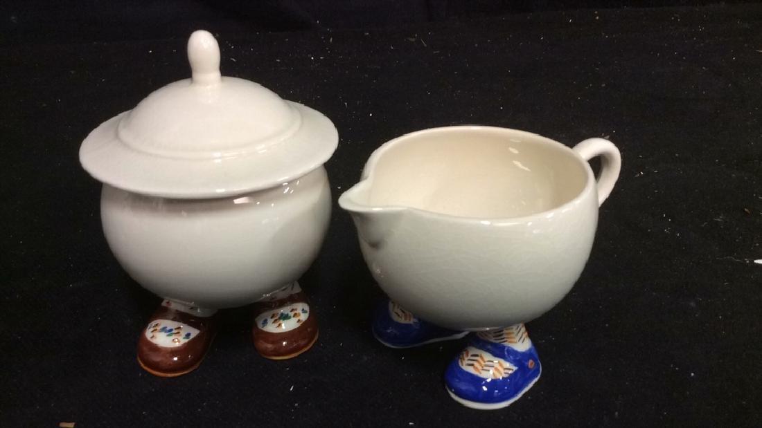 Carlton Ware England Ceramic Tea Set - 2