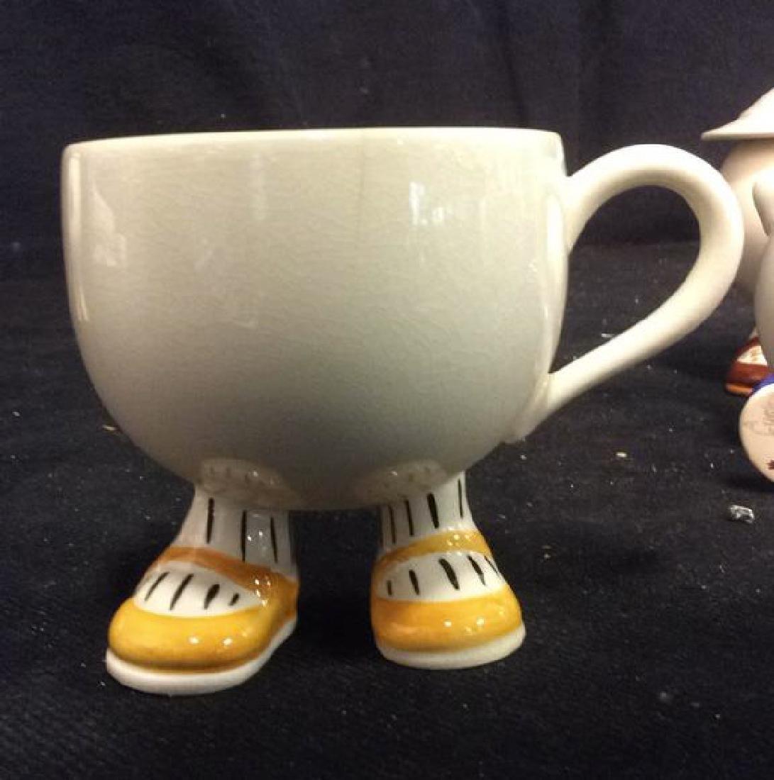 Carlton Ware England Ceramic Tea Set - 6