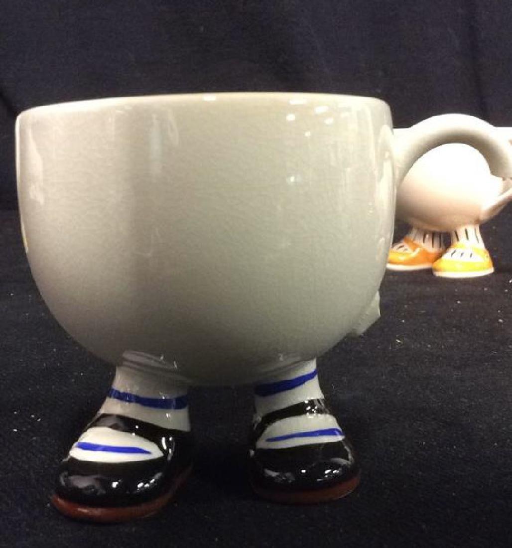 Carlton Ware England Ceramic Tea Set - 7