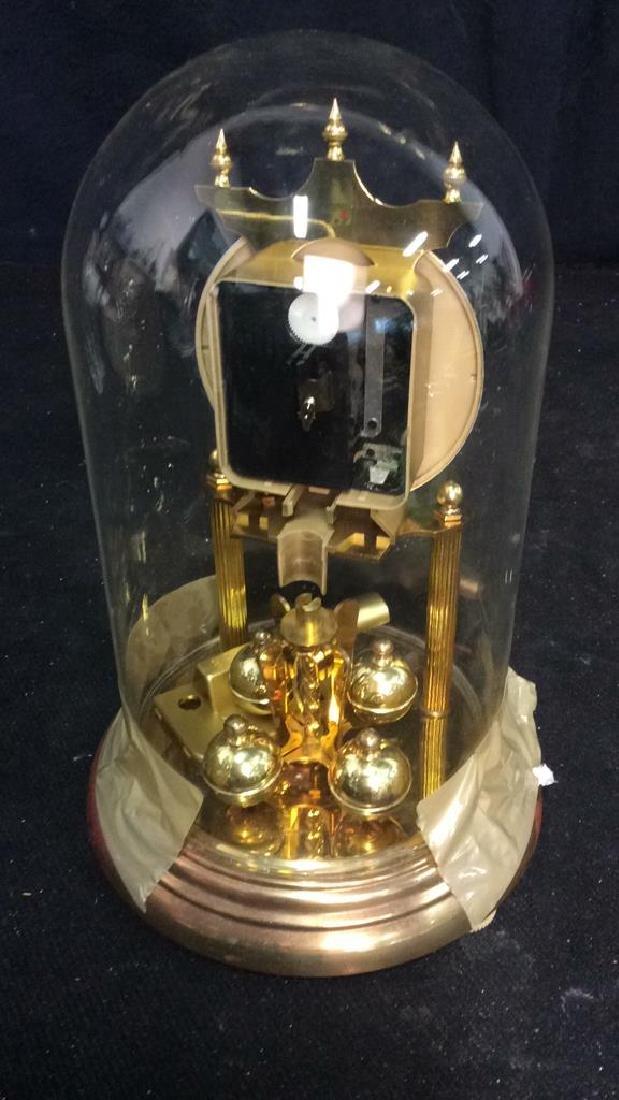Bulova Quarts Spinning Ball Domed Clock - 4