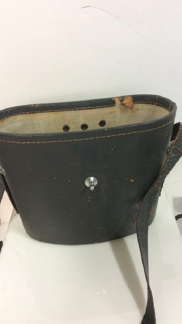 Vintage Feather Weight Binoculars w Case - 3