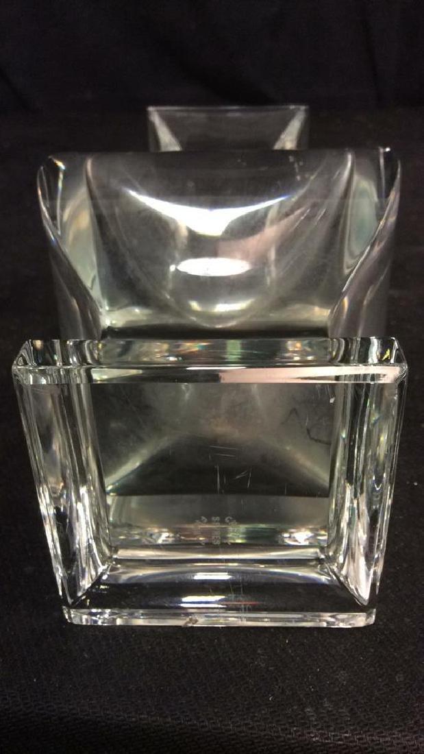 Serves France Footed Crystal Vase - 8