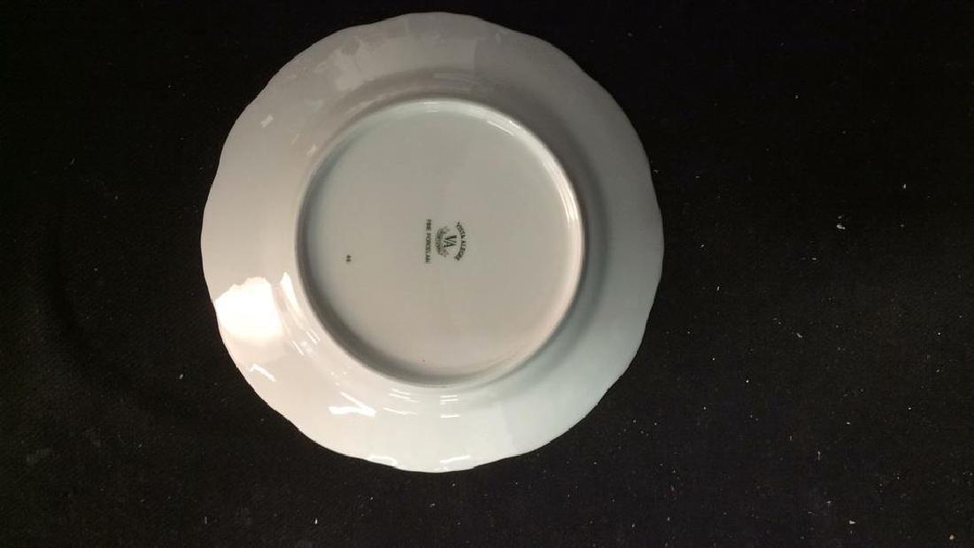 Porcelain Hand Painted Bird Plate Set 6, Portugal - 10