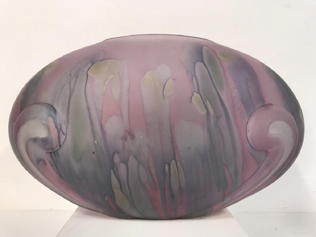 Painted Art GlassTable Centerpiece - 3